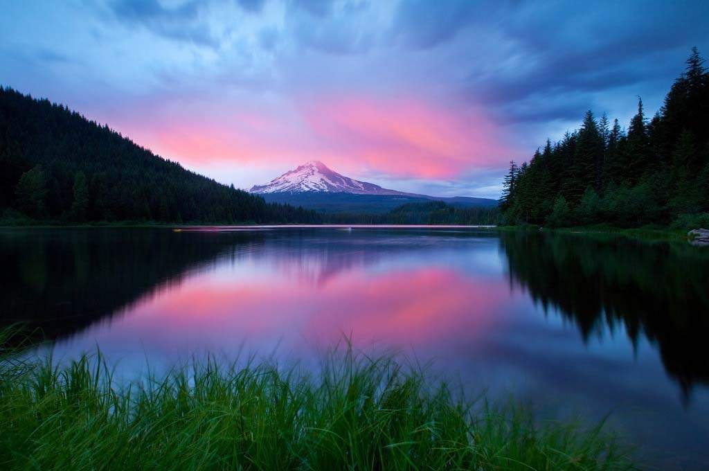 Clackamas-MT-Hood-Sunset
