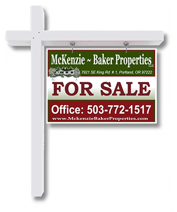 McKenzie Baker Properties For Sale Sign
